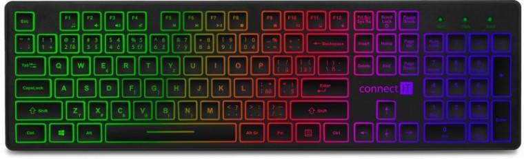 Drôtové klávesnice CONNECT IT CKB-4040-CS klávesnica