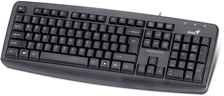Drôtové klávesnice Genius KB-110X CZ + SK čierna USB