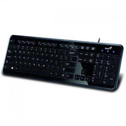 Drôtové klávesnice Genius SlimStar i250 CZ+SK čierna