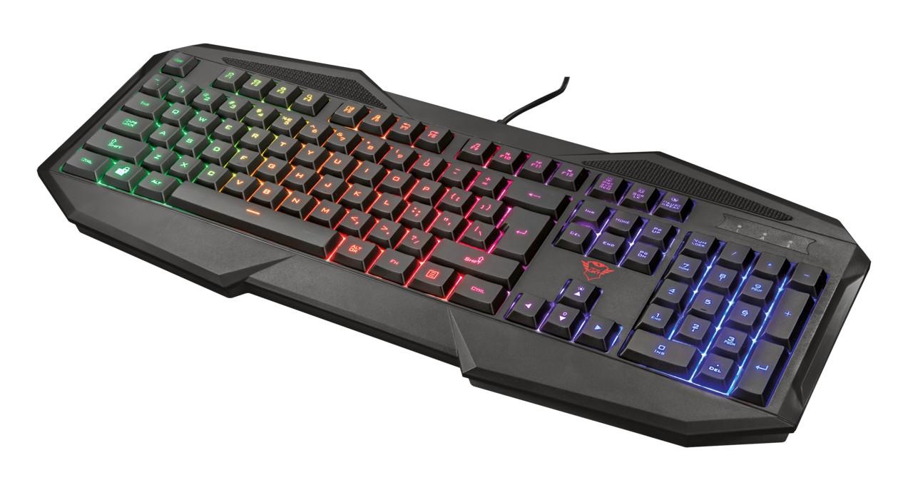 Drôtové klávesnice GXT 830-RW Avonn Gaming Keyboard CZ/SK