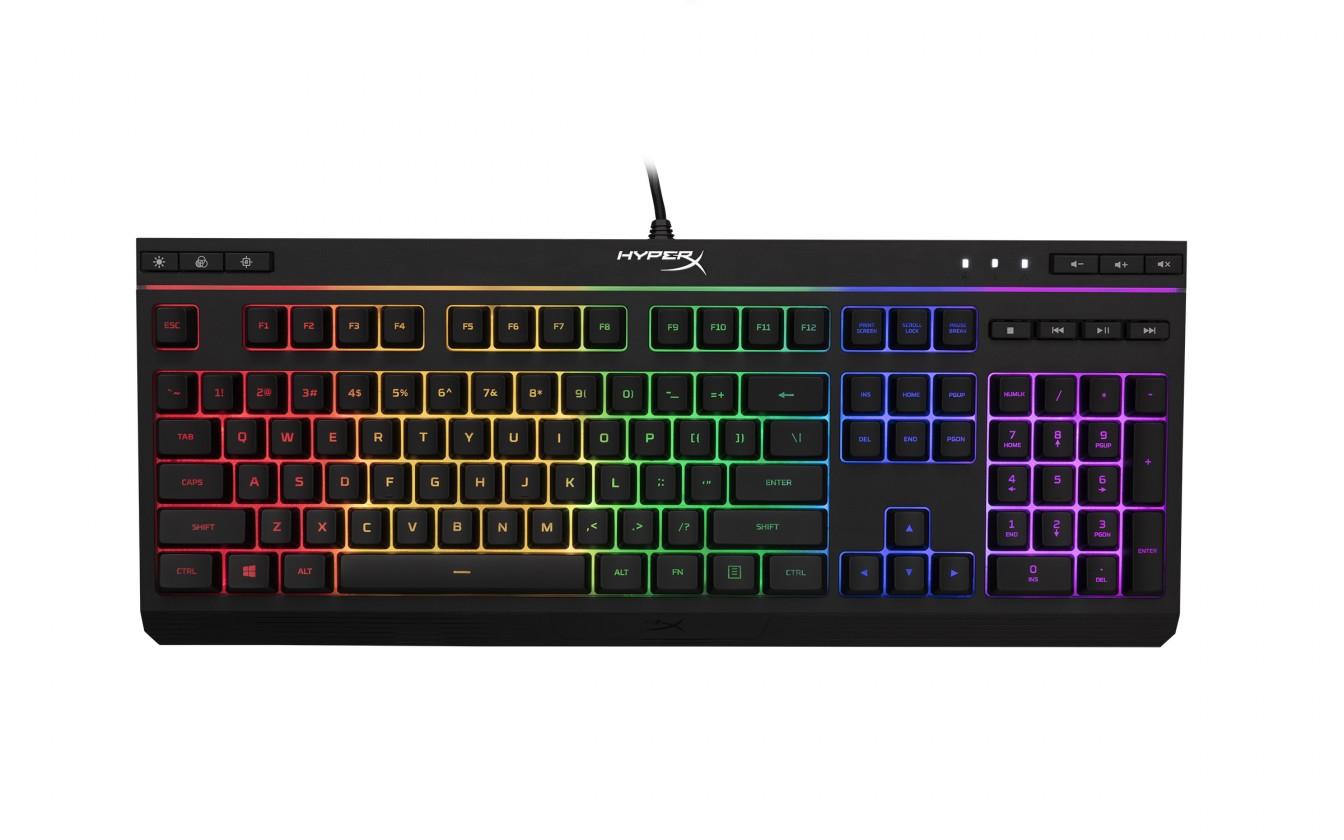 Drôtové klávesnice HyperX Alloy Core RGB herní  klávesnice