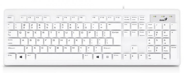 Drôtové klávesnice Klávesnice Genius Slimstar 130