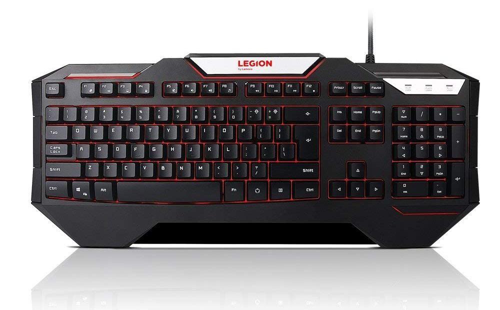 Drôtové klávesnice Lenovo Legion K200 Backlit Gaming Keyboard - CZ&SK