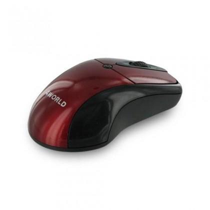 Drôtové myši 4World STYLE, červená