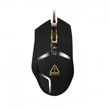 Drôtové myši Canyon Tantiva CND-SGM4E hráčska myš, drôtová, optická, čierna