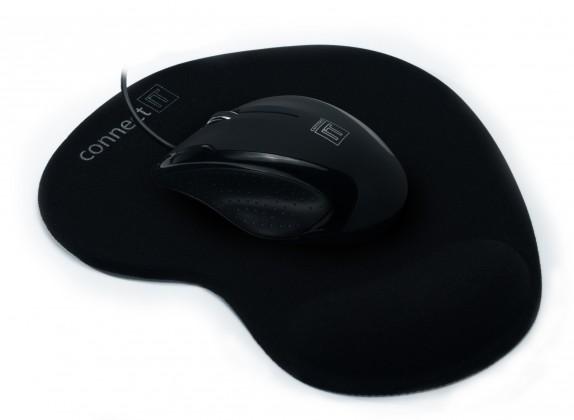 Drôtové myši Connect IT CI-77, čierna