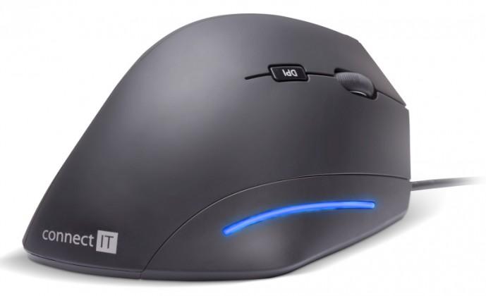 Drôtové myši Connect IT CMO-2500-BK