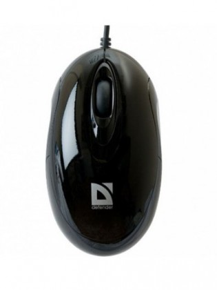 Drôtové myši Defender Phantom 320, čierna