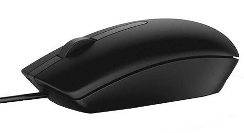 Drôtové myši Drôtová myš Dell MS116, čierna