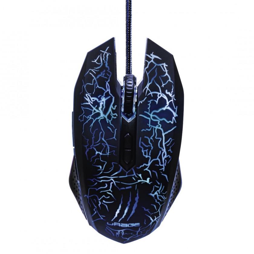 Drôtové myši Drôtová myš Hama uRage Illuminated2, herná, LED diódy, čierna