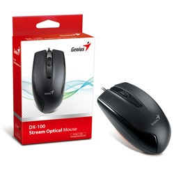 Drôtové myši Genius DX-100 čierna