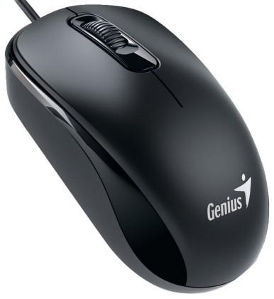 Drôtové myši Genius DX-110, USB, čierna 31010116107