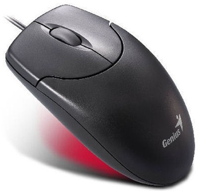 Drôtové myši Genius NetScroll 120 drôtová PS2 čierna ROZBALENO