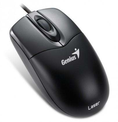Drôtové myši Genius NetScroll 200 Laser drátová PS2 černá ROZBALENO