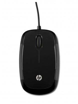 Drôtové myši HP X1200, černá H6E99AA#ABB POUŽITÉ, NEOPOTREBOVANÝ TOVAR