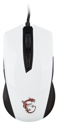 Drôtové myši MSI Clutch GM40, bílá S12-0401370-D22