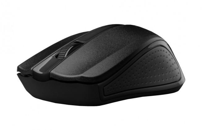 Drôtové myši Myš C-TECH WLM-01, čierna, USB