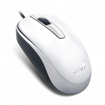 Drôtové myši Myš Genius DX-120 bílá