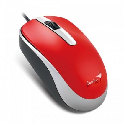 Drôtové myši Myš Genius DX-120 červená