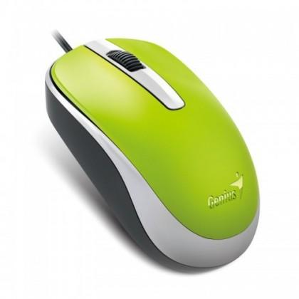 Drôtové myši Myš Genius DX-120 zelená