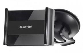 Držiak do auta Aligator HA2 2v1, otočný o 360°, rozťahovací úchyt