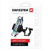 Držiak na bicykel Swissten Bike na riadidlá, extra pevný
