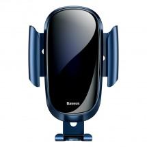 Držiak na mobil do auta Baseus, do mriežky, Future Gravity,modrý