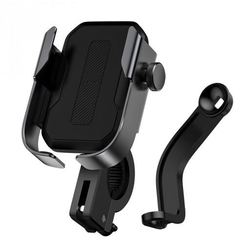 Držiak na mobil na bicykel/motorku Baseus univerzálny, čierny