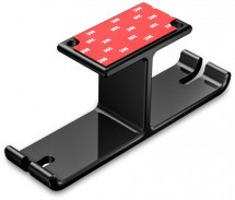 Držiak na slúchadlá Connect IT CHX-1100-BK, pod dosku, čierny