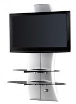 Držiak televízie MELICONI GHOST, VESA max 400x400, 30kg, biely
