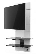 Držiak televízie MELICONI GHOST, VESA max, 400x400, 30kg, biely