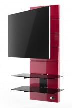 Držiak televízie MELICONI GHOST, VESA max 400x400, 30kg, červený