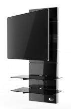Držiak televízie MELICONI GHOST, VESA max 400x400, 30kg, čierny