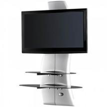 Držiak televízie MELICONI GHOST, VESA max 400x600, 70g, biely PO