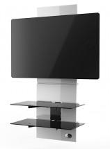 Držiak televízie MELICONI GHOST, VESA max 600x600, 30kg, biely