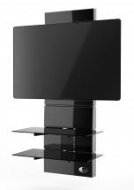 Držiak televízie MELICONI GHOST, VESA max 600x600, 30kg, čierny
