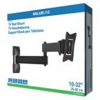 Držiak televízie valueLINE, kĺbový VESA max 200x200, 30kg