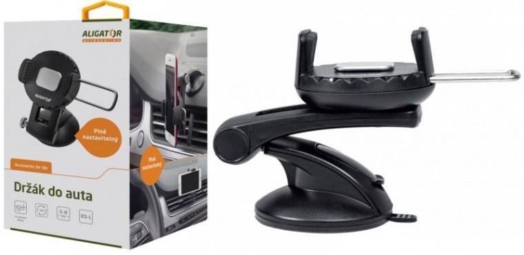 Držiaky a stojany Držiak do auta Aligator HA3, otočný 360°, automatický úchyt