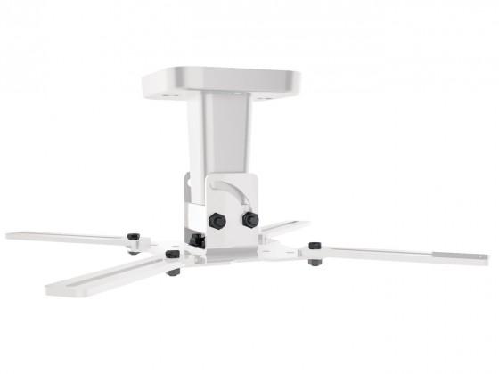 Držiaky pre projektory Držiak projektora Meliconi 480804 PRO 100, biely, stropný