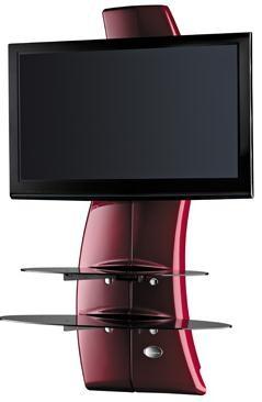 Držiaky TV Držiak televízie MELICONI GHOST, VESA max 400x400,30kg, červený