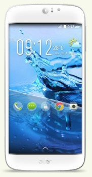 "Dual SIM telefón Acer Liquid Jade S LTE /5""/MT6752M/16GB/2G/A bílý"