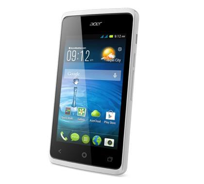 Dual SIM telefón ACER LIQUID Z200 WHITE