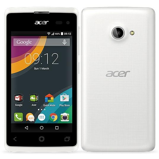Dual SIM telefón Acer Liquid Z220