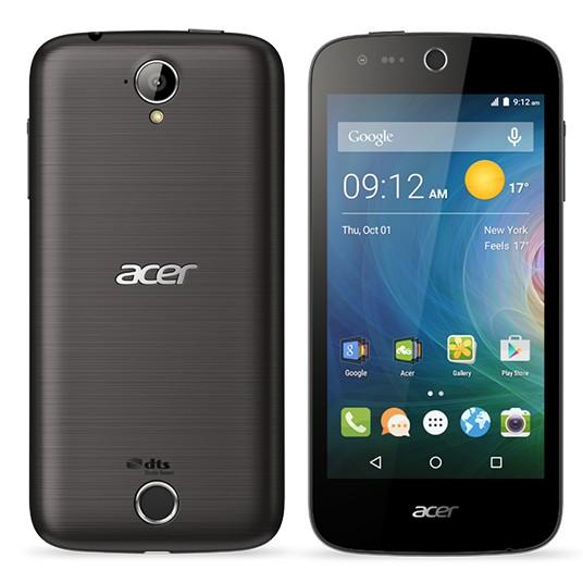 Dual SIM telefón ACER LIQUID  Z330 LTE Black