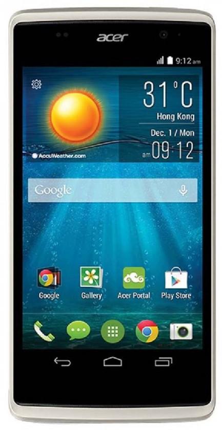 Dual SIM telefón Acer Liquid Z500 sivý