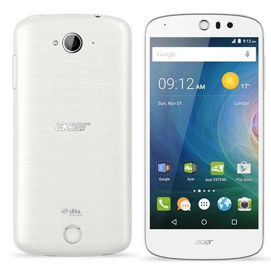 Dual SIM telefón ACER LIQUID  Z530 LTE White ROZBALENÉ