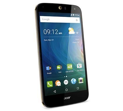 Dual SIM telefón Acer Liquid Z630S, čierna/zlatá