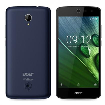 Dual SIM telefón Acer Liquid Zest LTE, modrá