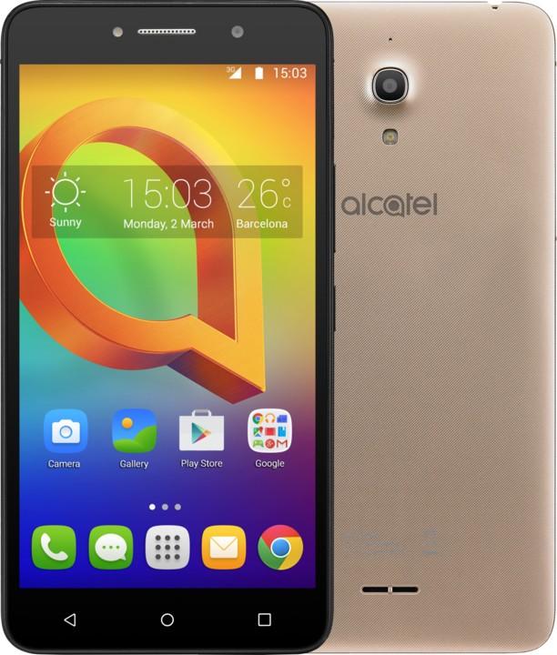 Dual SIM telefón Alcatel A2 XL 8050D Metallic Gold