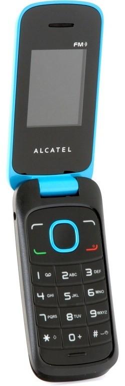 Dual SIM telefón ALCATEL ONETOUCH 1030D Fresh Turquoise ROZBALENO